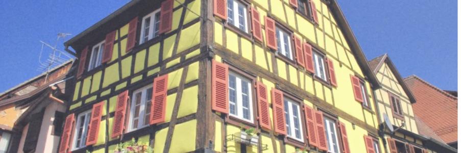 La maison alsacienne à colombages
